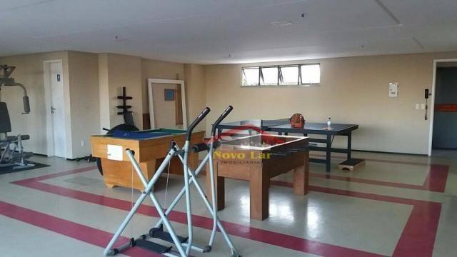 Apartamento com 3 dormitórios para alugar, 113 m² por R$ 1.800,00/mês - Fátima - Fortaleza - Foto 17