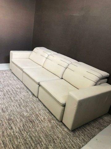 Sofá grande retrátil e reclinável  - Foto 4