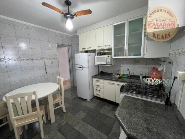 Apartamento com 2 dormitórios à venda, 72 m² por R$ 330.000 - Guilhermina - Praia Grande/S - Foto 9
