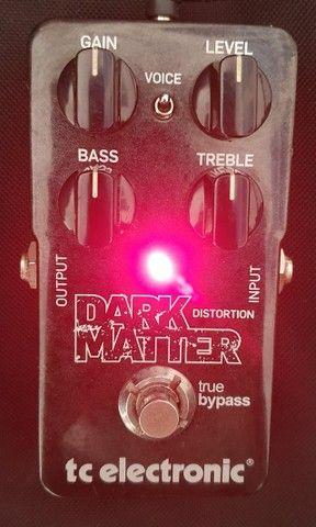 Pedal (usado) Guitarra Dark Matter Distortion - TC Electronic