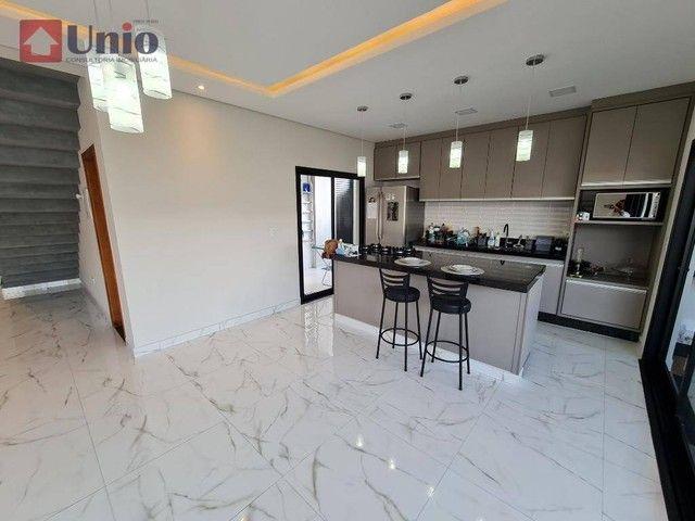 Casa com 3 dormitórios à venda, 207 m² por R$ 1.350.000,00 - Loteamento Residencial e Come - Foto 5