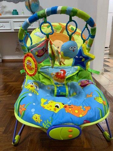 Cadeira de Descanso Baby Style Lite Aqua - 0 a 11kg - Foto 3