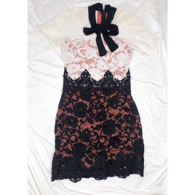 vestido de renda 38