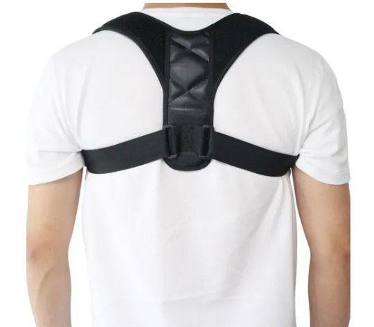 Corretor Postural Unisex Alinhamento Ombro Coluna Ajustável - Foto 4