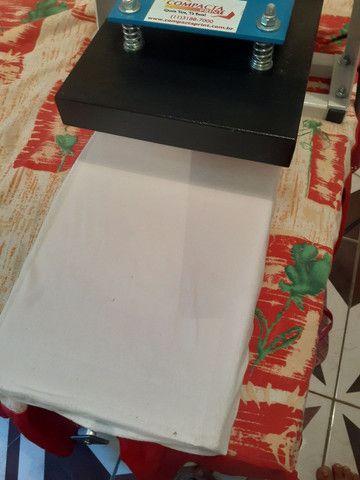 Máquina de estampar camiseta da compacta print  - Foto 6