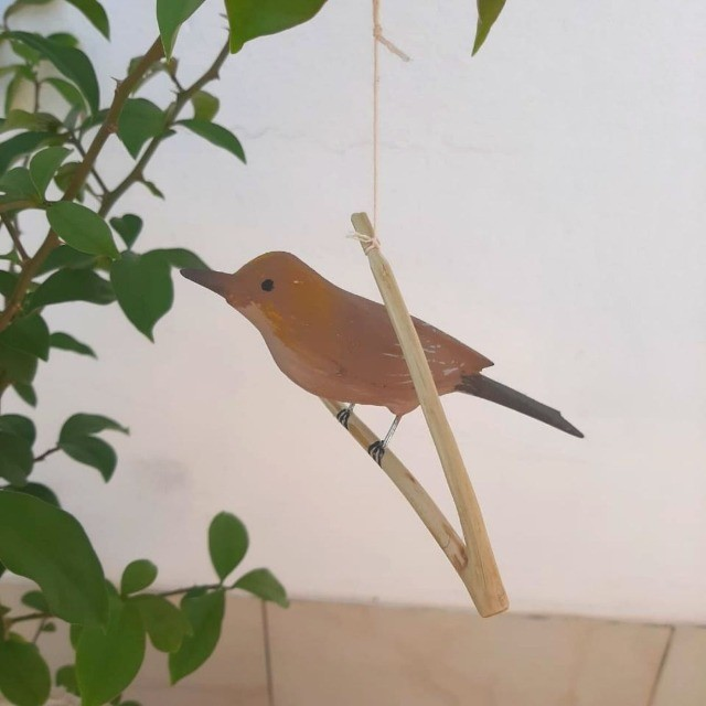 Pássaro de Madeira Rouxinol
