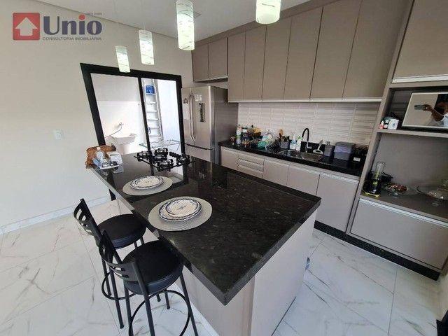 Casa com 3 dormitórios à venda, 207 m² por R$ 1.350.000,00 - Loteamento Residencial e Come - Foto 6