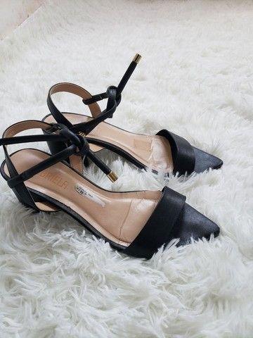 Sapato salto baixo quadrado  - Foto 2
