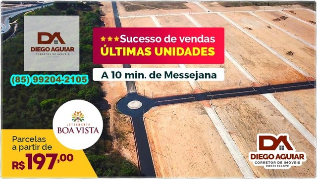 Lotes Boa Vista &¨%$#@ - Foto 2