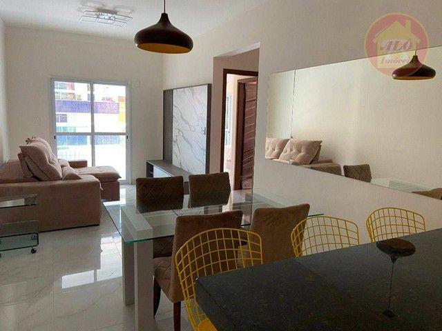 Apartamento com 2 dormitórios à venda, 70 m² por R$ 359.000 - Tupi - Praia Grande/SP