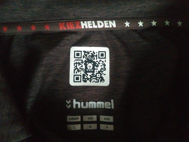 Camisa Saint Pauli Alemanha Hummel Tamanho M Nova - Foto 4