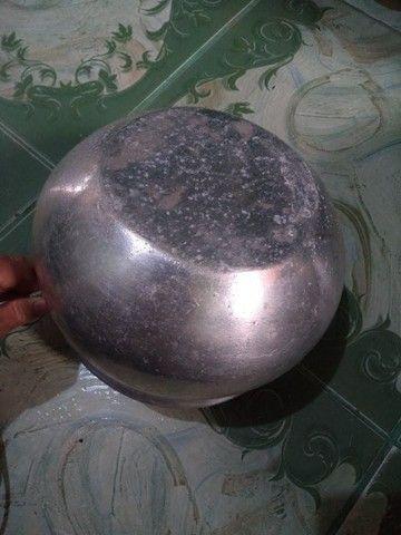 Panela tipo caldeirão alumínio Grosso - Foto 4