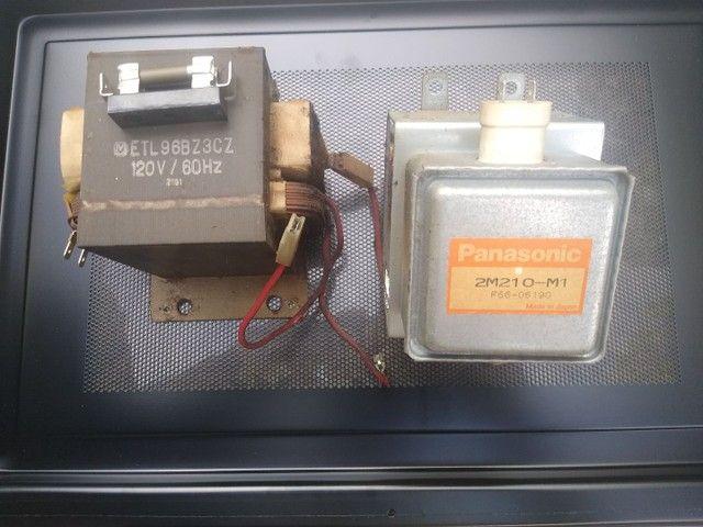 Megnetron e Trafo de microondas Panasonic
