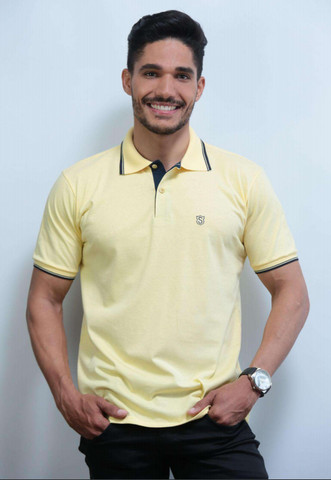 Kit 3 Camisas Pólo Meia Malha Sudotex C/ Frisos Tecido Macio Alta Qualidade Frete Grátis - Foto 2