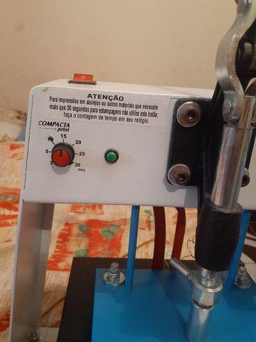 Máquina de estampar camiseta da compacta print  - Foto 4