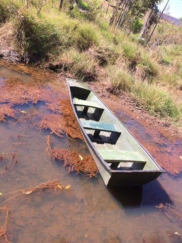 Canoa de fibra 3,5 metro  - Foto 4