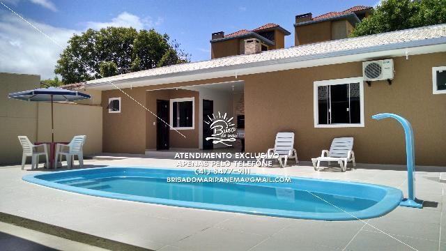 Casa com piscina e ar condicionado em Ipanema - Foto 2