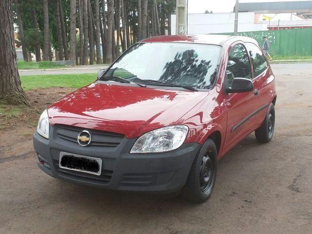 Gm - Chevrolet Celta GM - Chevrolet Celta Life 1.0 8V FlexPower Vermelho em Perfeito Estad