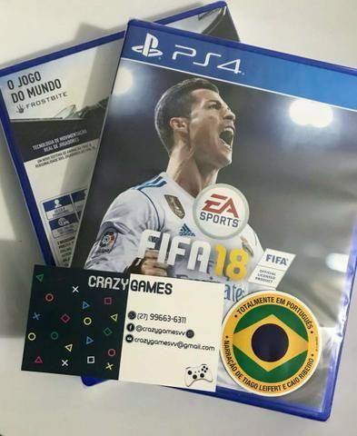 Fifa 18 - lacrado - Ps4 e Xbox One