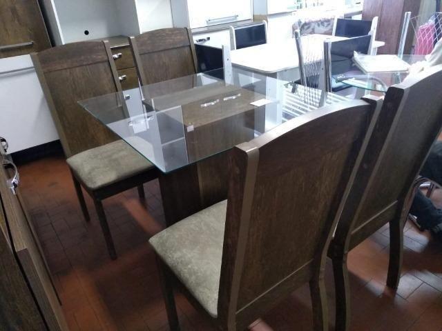 """Conjunto de mesa 4 cadeiras adar """" ENTREGA HOJE OU EM ATÉ 24 HORAS   - Foto 2"""