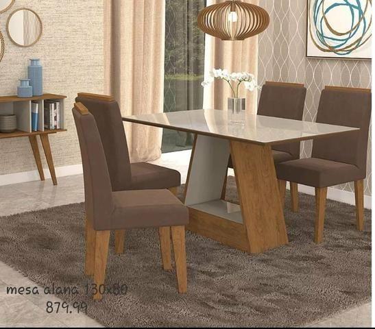 """Conjunto de mesa 4 cadeiras """" ENTREGA HOJE OU EM ATÉ 24 HORAS - ZAP *"""