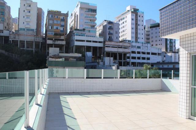 Buritis: cobertura 3q, var, 2 vg's, terraço amplo