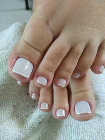 ALONGAMENTO de unhas manicurecure e pedicure adomecilio desaigne de sobrancelha - Foto 5