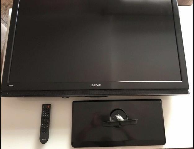 Tv 42 SEMP LCD, 2 HDMI, Controle Remoto