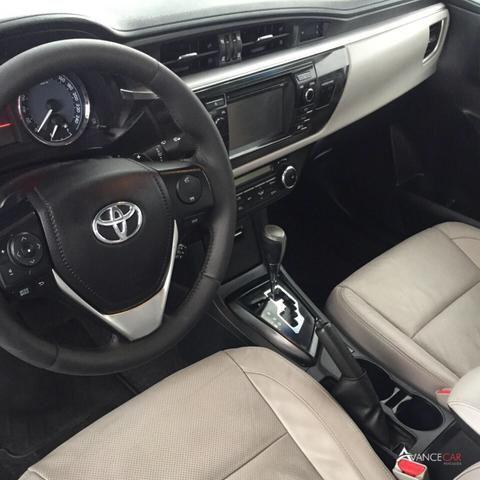 Corolla XEI 2.0 AT 2015 4 pneus Zeros - Foto 5