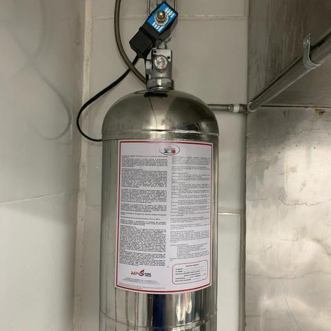 Instalação de sistema de combate à incêndio Saponificante, CO2, FM 200, NOVEC 1230 - Foto 5