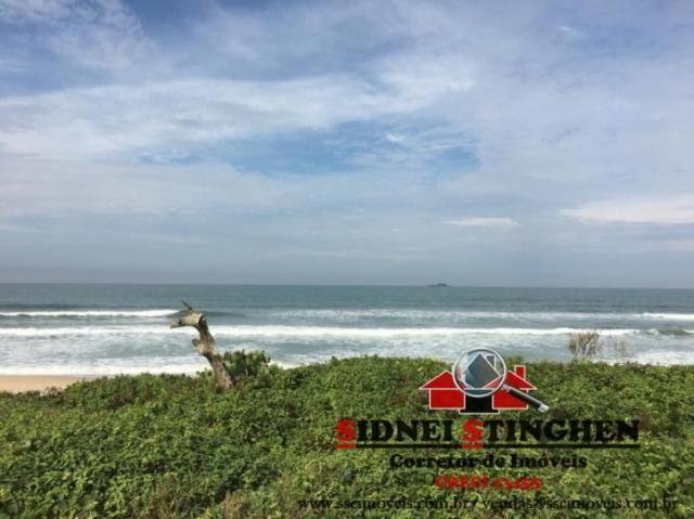 Confira. Ótimo terreno amplo, de frente ao mar, em Bal. Barra do Sul - SC - Foto 7