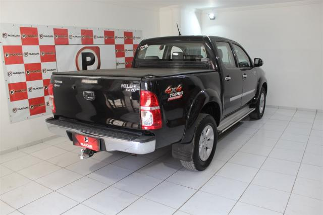 TOYOTA HILUX 2013/2014 3.0 SRV TOP 4X4 CD 16V TURBO INTERCOOLER DIESEL 4P AUTOMÁTICO - Foto 4