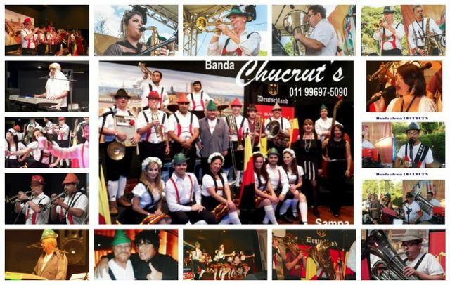 Banda alemã Chucrut's - * - São Paulo - Foto 6