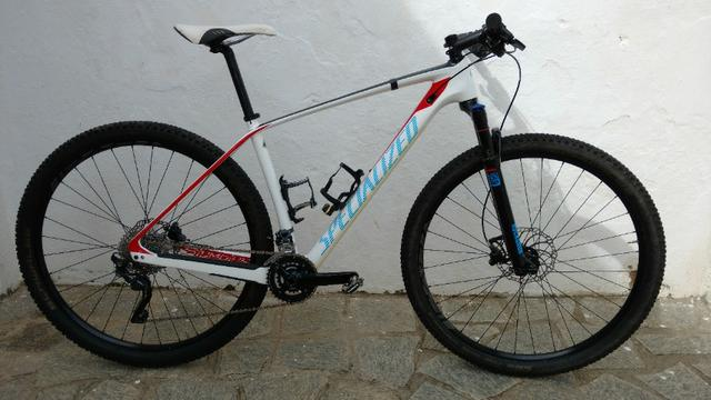 2015 Specialized Stumpjumper Carbono pouquíssimo uso top bike - Foto 6