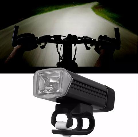 Bike Lanterna Farol Dianteiro Recarregável Usb 180 Lumens Pedal Noturno Bicicleta Forte - Foto 6