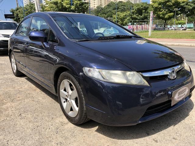 Civic Lxs Automático 2008/2008 Novíssimo Com Ipva Pago