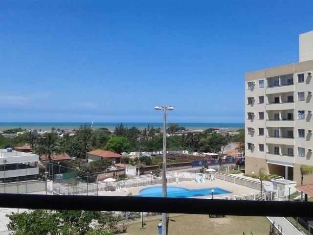 Apartamento 2 quartos com varanda e bela vista para o mar de jacaraipe - Foto 2