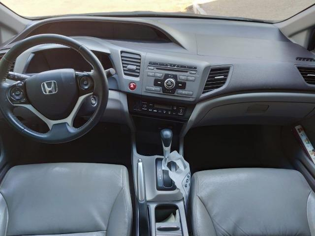Honda Civic Lxl 2012 com entrada 6.000 + parcelas - Foto 2