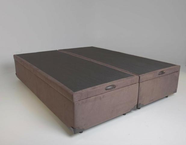 Conjunto baú king size (193x203) + colchão de molas ensacadas Apenas 1999,00 - Foto 3