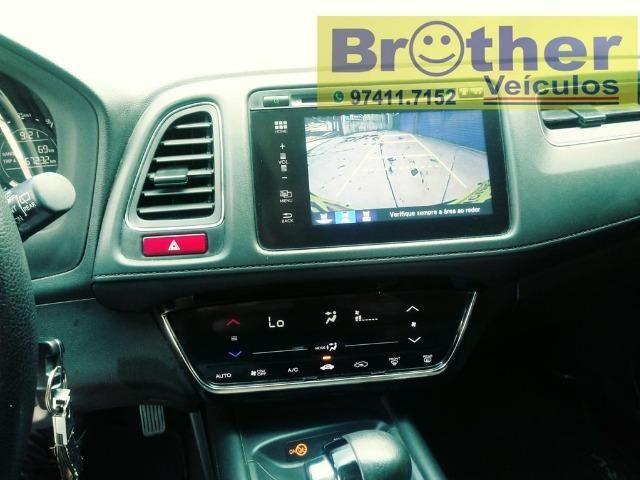Honda Hr-V Exl Cambio CVT 15/16 Completa - Manual + Chave Reserva - Foto 9