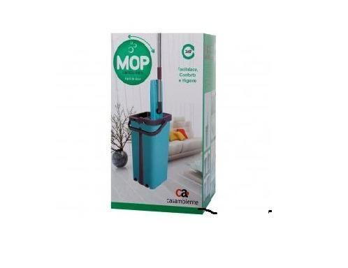 Mop Flat Casambiente TP007M com Balde - Microfibr224185900)