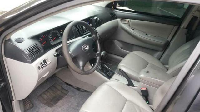 Corolla Brindado Completo automático 2005 valor 18.000 mil na troca considerado a tabela - Foto 7
