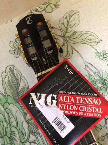 Tagima Paraty Nylon Acustico + Encordoamento Violao Nig Nylon Alta Tensao N 410 - Foto 2