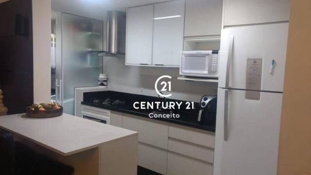 Apartamento com 3 dormitórios à venda, 104 m² por R$ 650.000,00 - Abraão - Florianópolis/S - Foto 2