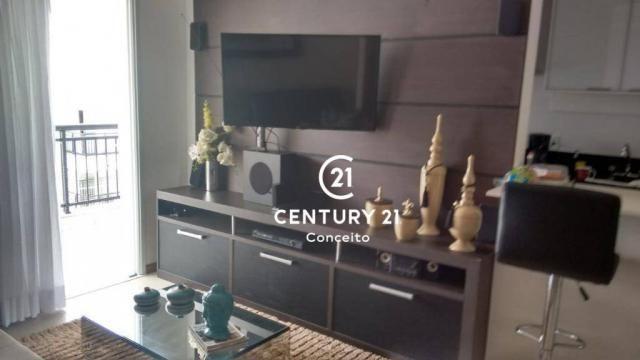 Apartamento com 3 dormitórios à venda, 104 m² por R$ 650.000,00 - Abraão - Florianópolis/S - Foto 6