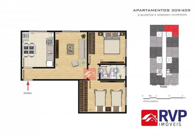 Apartamento com 2 dormitórios à venda por R$ 189.000,00 - Recanto da Mata - Juiz de Fora/M - Foto 20