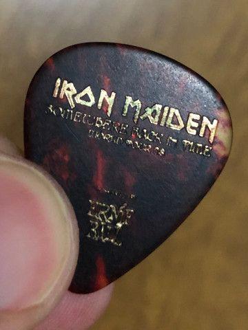 Palheta original Iron Maiden