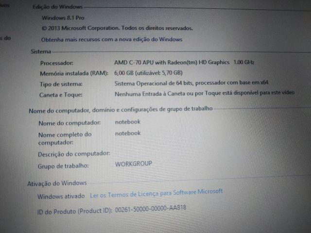 Notebook Philco 500gb e 6gb de RAM  - Foto 3