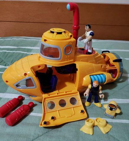 Imaginext submarino e helicóptero - Foto 2