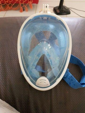 Máscara  de  mergulho  top